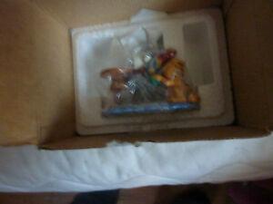 "Danbury Mint 1993 Garfield ""King of the Jungle"" Figurine"
