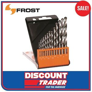 Frost 13 Piece HSS Drill Bit Set Metric (by Sutton) - 92256