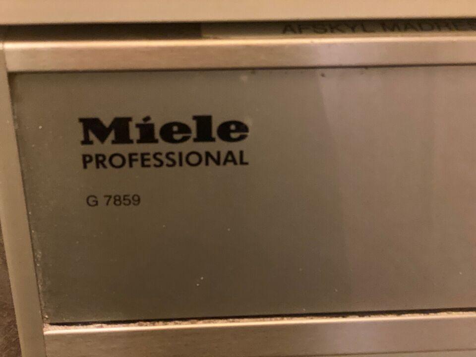 Miele Professional G7859, fritstående, energiklasse A