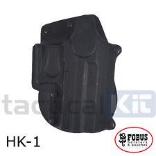 New Fobus H&K USP Compact Rotating Paddle Holster UK Seller HK-1 RT Polymer