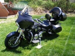 v star 1100 trunk with 221966542038 on QuickDetachableFairingforDyna further 221966542038 moreover 301303846637 as well How To Make Hard Saddlebags For Motorcycle in addition Porsche 914 Engine Number Location.