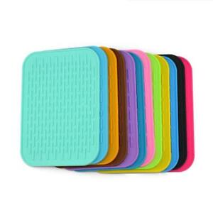 Heat Resistant Silicone Table Mat Placemat Non-slip Pan Pot Holder Durable BA