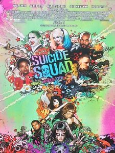 SUICIDE-SQUAD-ORIGINAL-MOVIE-POSTER-DS-27X40-JOKER-variant-With-AR-15