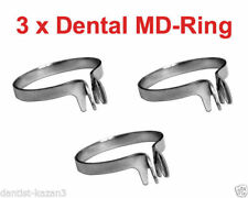 3x Dental MD Ring for Sectional Contoured Metal Matrices Matrix as Palodent V3 X