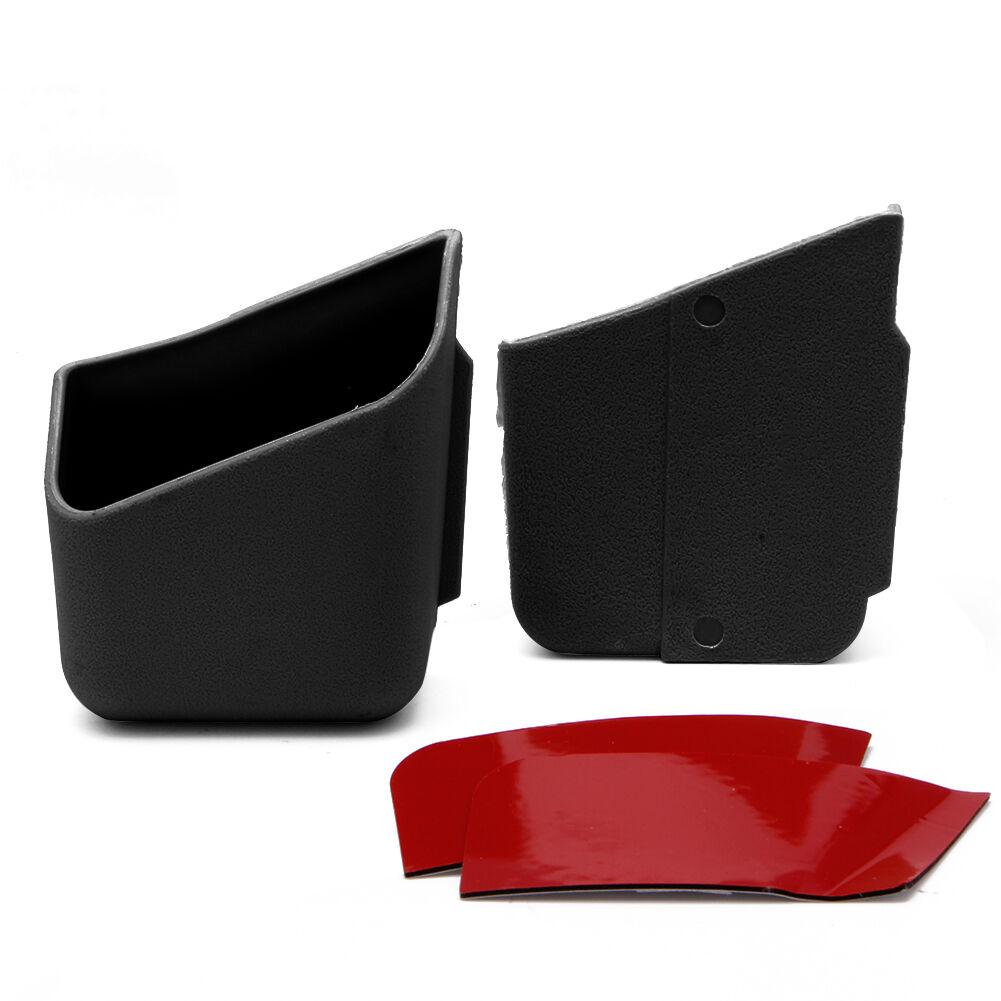 2X Universal Car Auto Accessories Glasses Organizer Storage Box Holder Black 3