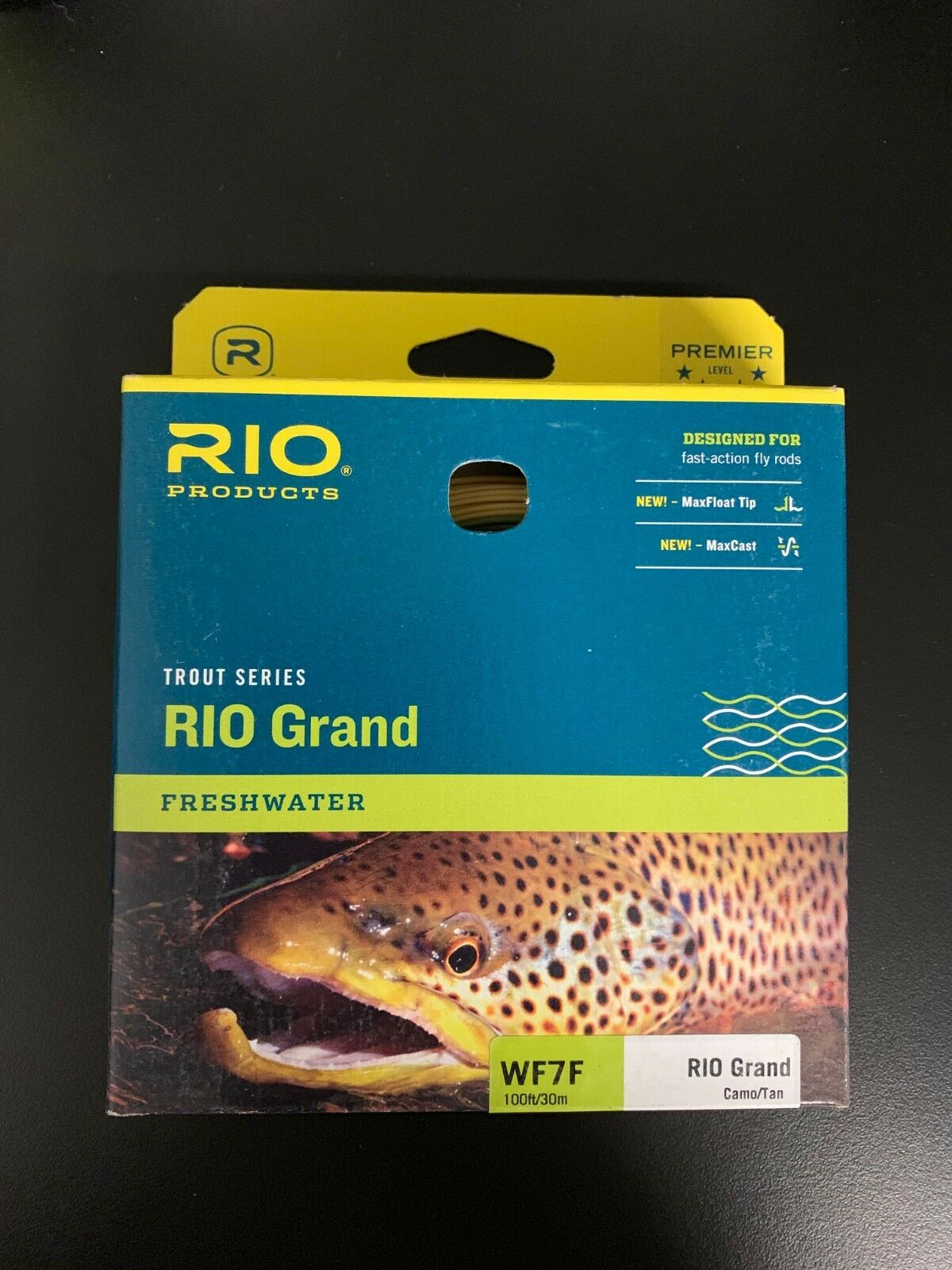 NEW - Rio Products - RIO GRAND WF7F Floating Fly Line - Multiple colors