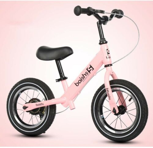 "12/""Kid Balance Bike No-Pedal Learn to Ride Pre Bike Classic w// Brakes Child Gift"