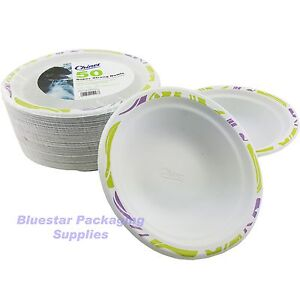 50 X 17cm Super Strong High Quality Chinet Disposable Party Bowls 1