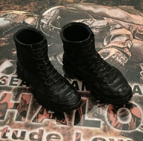 Mini Times US Navy Seal HALO MT-M001 Black Tactical Boots loose 1//6th scale