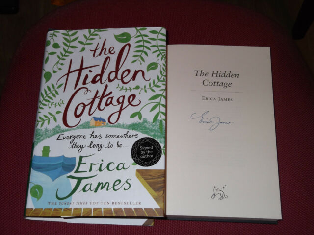 *Signed* ERICA JAMES 'The Hidden Cottage' VGC (Sunday Times Top 10 best Seller)
