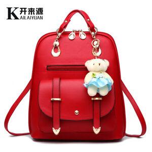 9599892db4 Image is loading Women-Spring-Summer-Backpack-Students-Cute-Korean-Bag-