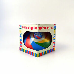 Humming-Spinning-Top-Toddler-Toy-Play-Age-12m-Metal-House-of-Marbles