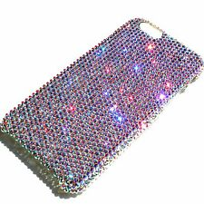 """For iPhone 7 Plus (5.5"""") Small 12ss CRYSTAL AB Bling Back Case made w/Swarovski"""