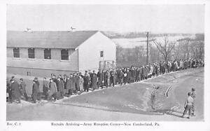 Recruits-Arriving-Army-Reception-Center-New-Cumberland-Pennsylvania-Postcard