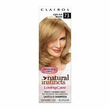 Clairol Natural Instincts Loving Care Color, 073 Light Ash Blonde (Pack of 1)