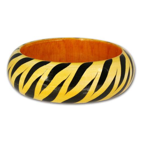 imppac Holzarmreif Zebra Damen Armreifen RAV325Y