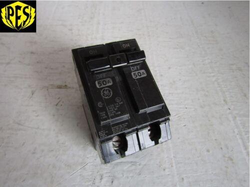 GE GENERAL ELECTRIC THQB22050 THQB2150 2 POLE 50 AMP 240v B//O CIRCUIT BREAKER