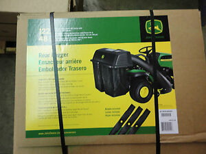 John Deere Bm21889 Bg20777 Twin Bagger Kit 100 Series Lawn