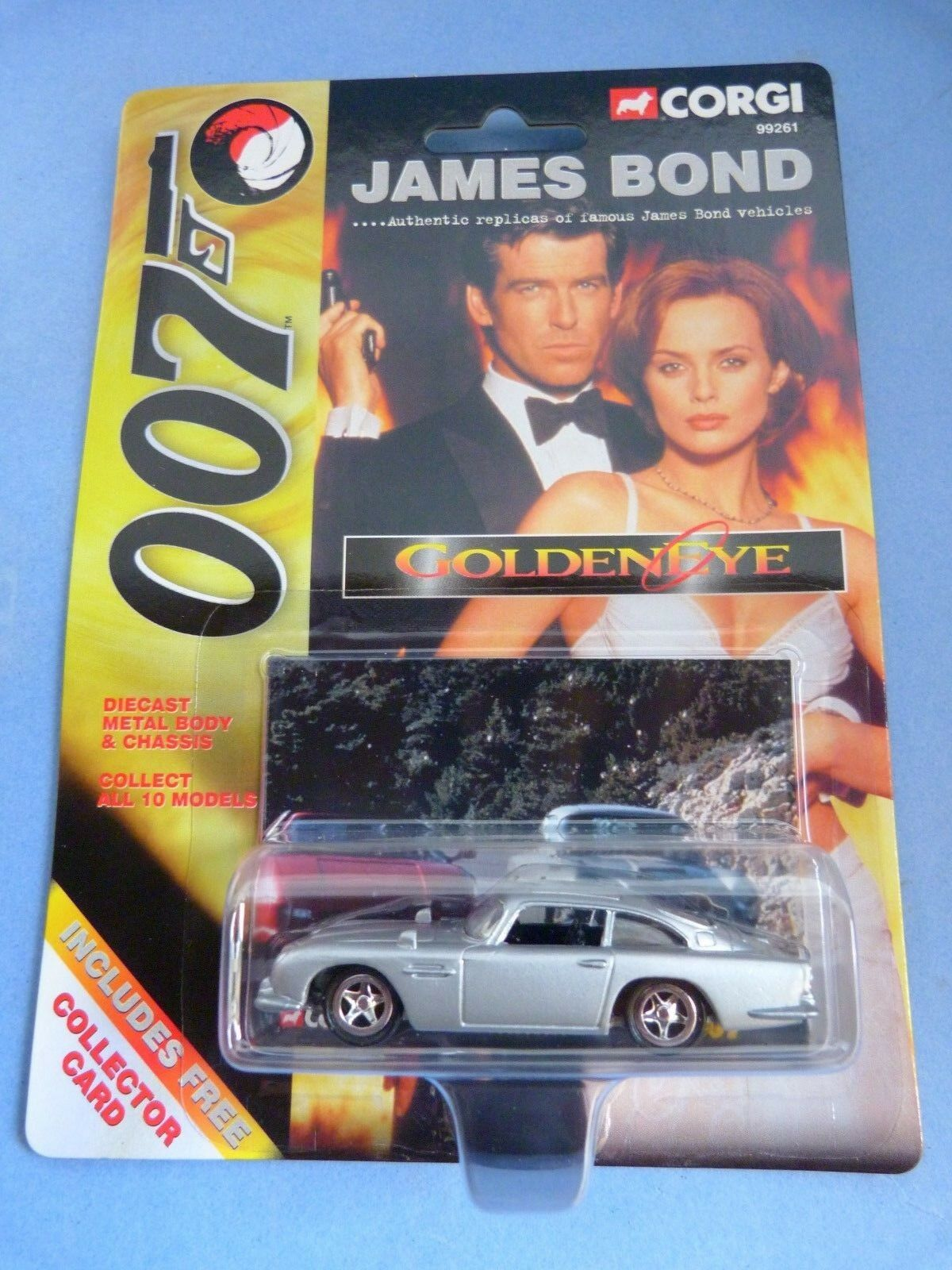 Cars 1 64 - corgi-complete collection 12 cars james bond 007 + maps