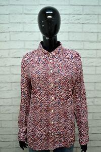 Camicia-Donna-TOMMY-HILFIGER-Classic-Taglia-XL-Maglia-Manica-Lunga-Shirt-Woman