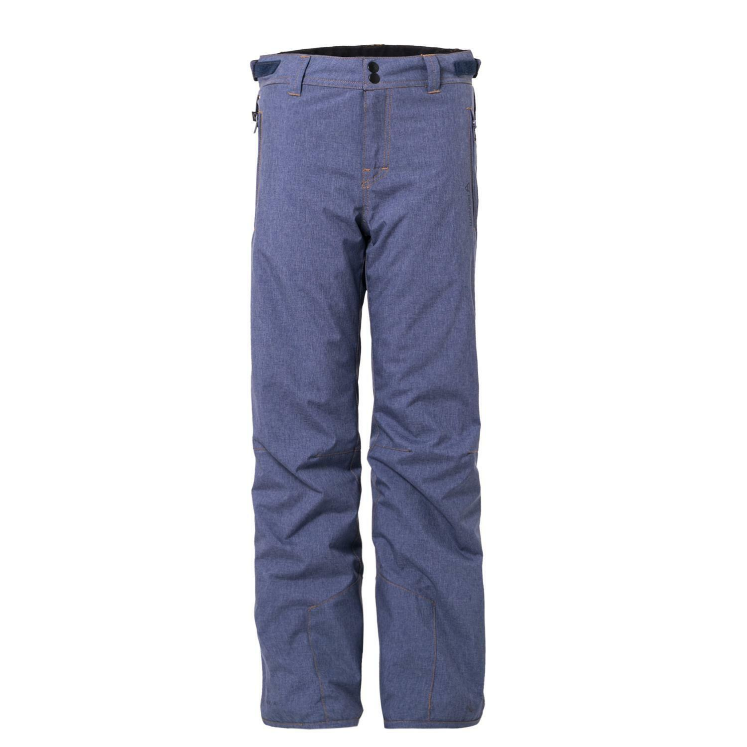 Brunotti  Ski Trousers Snowboard Trousers kitebar JR Melange Boys Snowpants bluee  new exclusive high-end