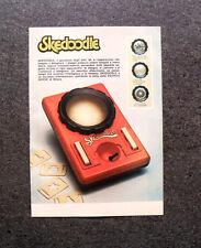 K736- Advertising Pubblicità -1980- SKEDOODLE , INSEGNA A DISEGNARE