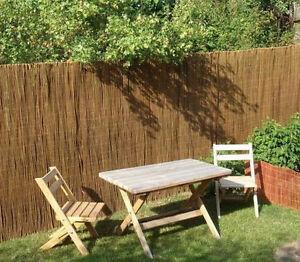 18 X 5 M Weidenmatte Weide Zaun Sichtschutz Garten Ebay