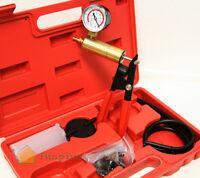 2 In 1 Brake Bleeder & Vacuum Pump Gauge Test Tuner Kit Tools Diy Hand Tools Kit on sale