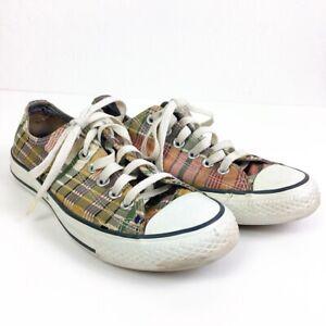 Star Chuck Taylor Plaid Shoe Low