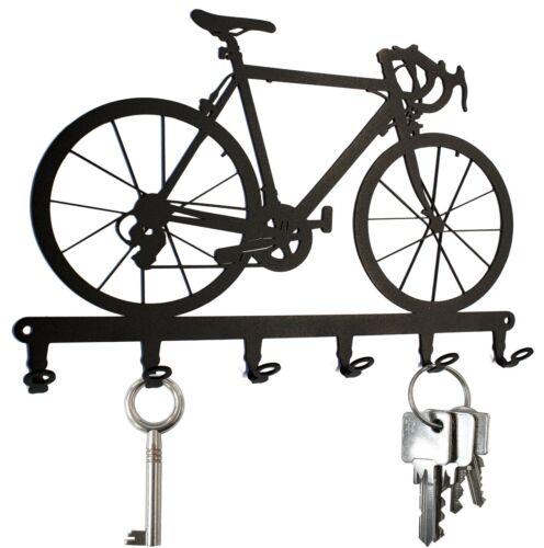 Key Hooks  Bike HOOK  Design NEW Steel Black KEY HANGER Racing Bicycle