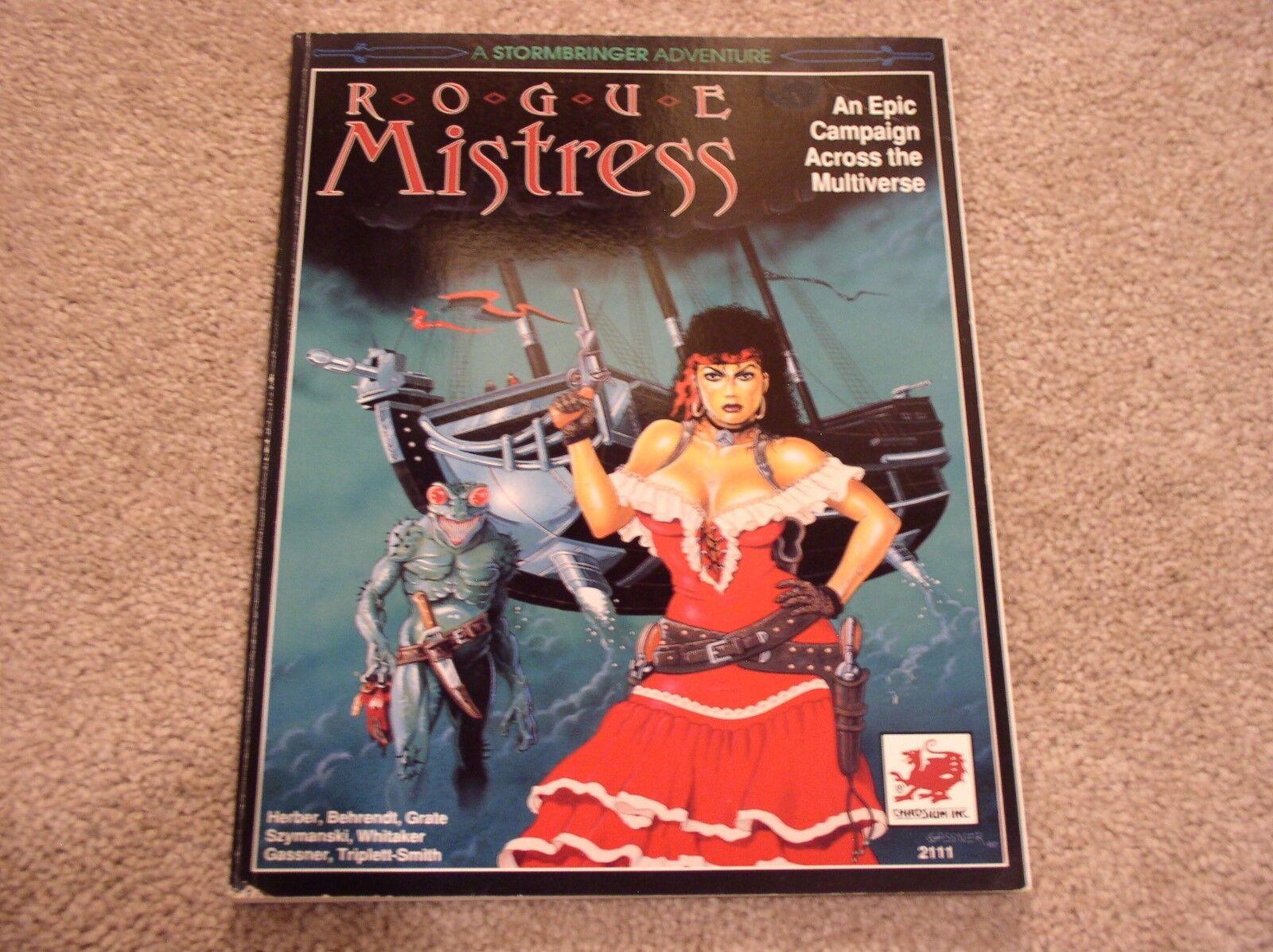 Chaosium Stormbringer Rogue Mistress sourcebook