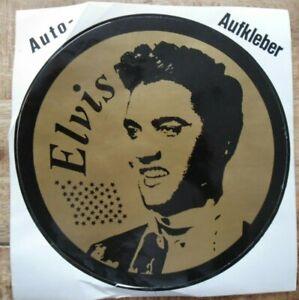 Fan-Aufkleber Elvis Presley The King 22 CM Rockabilly Rock'N Roll Singer USA