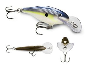 Rapala JSR07 Jointed Shad Rap 2 3//4 inch Deep Jointed Crankbait Fishing Lure