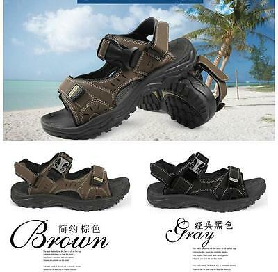 New Outdoors men's casual beach shoes summer sports sandals Black/Brown