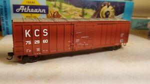Athearn-KCS-HO-50-039-boxcar-RTR-Railbox-type-metal-wheels-new