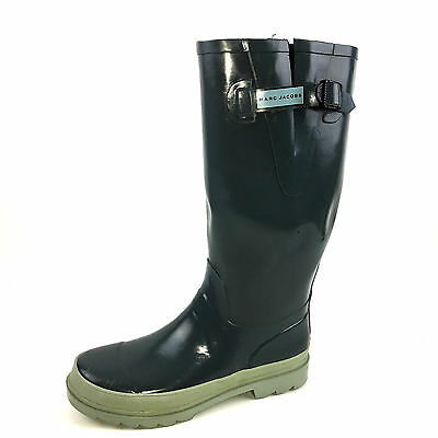 Marc Jacobs  Light Gray Rubber Rain Boots Size  Euer. 38