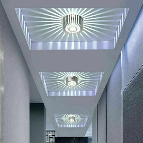 Modern LED Ceiling Light for Art Gallery Decor 3W Wall Sconce Balcony lamp UK