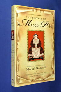 THE-TRAVELS-OF-MARCO-POLO-Manuel-Komroff-BOOK-Travel-Adventure-Classic
