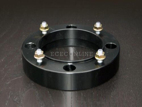 "4x156  Black ATV Wheel Spacer with 3//8/"" Studs for Polaris 4//156 2pc 1.5/"" Thick"