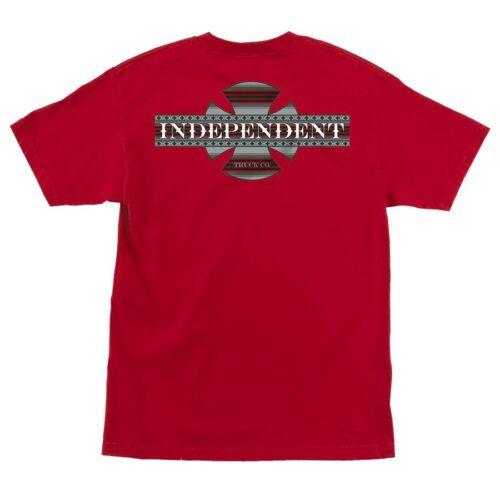 Independent Trucks BOARDER POCKET Skateboard Shirt RED XXL