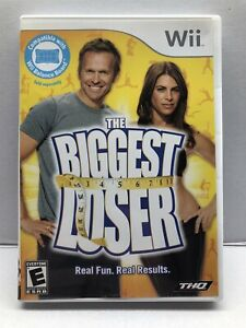Biggest Loser (Nintendo Wii) Fitness Health Game - Complete - Tested Working