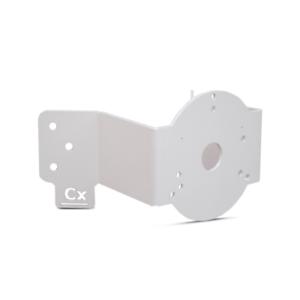 CR-120 Kamera Eckhalterung Weiß Montage Apparat für Überwachungskamera