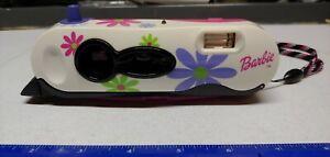 2001 Mattel Barbie Polaroid Camera I-Zone w/ Strap & Mirror LOC300