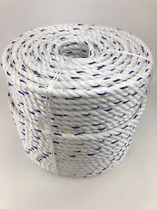 Tree Surgery Rope Lowering Rigging 18mm White Polysteel Rope x 35 Metres