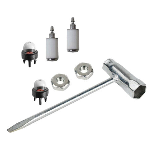 Chainsaw Repair Tool Bar Nut Fuel Filter for STIHL 023 025 MS230 MS250 Parts