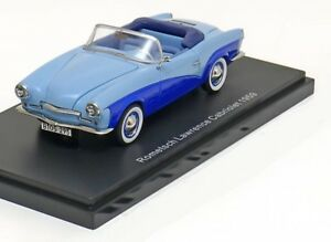 Rometsch Lawrence Cabriolet 1959 Bleu clair Bos 43295 1/43 Best Of Show Resine
