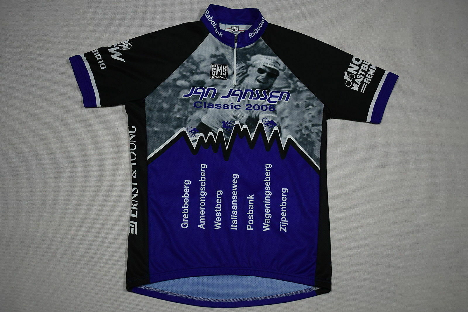 SMS Santini Jan Janssen Trikot Rad Bike Jersey Maillot Maglia Camiseta Shirt XL
