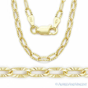 .925 Sterling Silver 14k Yellow Gold-Plated 1.3mm Bead and Cable Chain Necklace