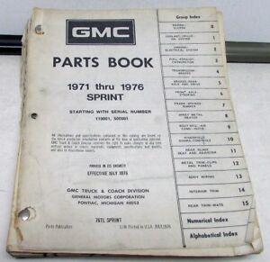 1976 gmc truck parts