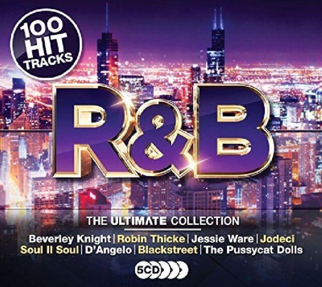 ULTIMATE R&B (TAIO CRUZ, AKON, WILL.I.AM, NE-YO, SOUL II SOUL,...)  5 CD NEW!